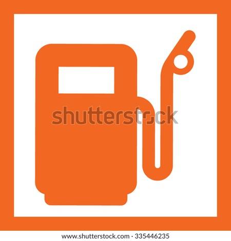 fuel icon - stock vector