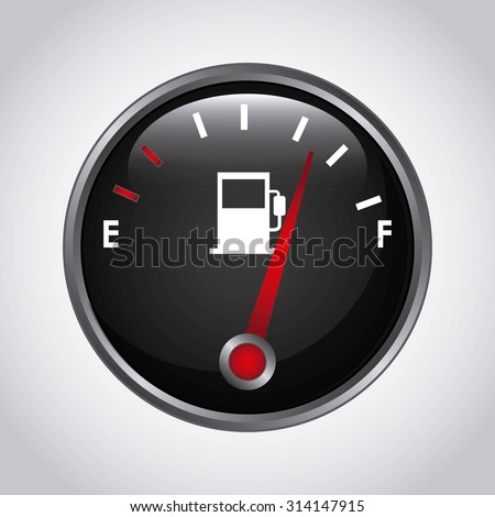 fuel meter  design, vector illustration eps10 graphic