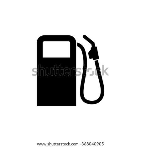 Fuel pump, vector icon - stock vector