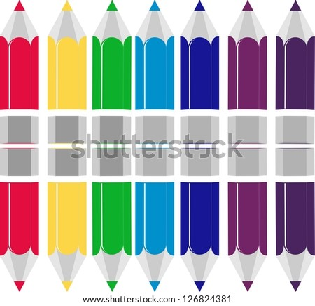 Full Color, vector - stock vector