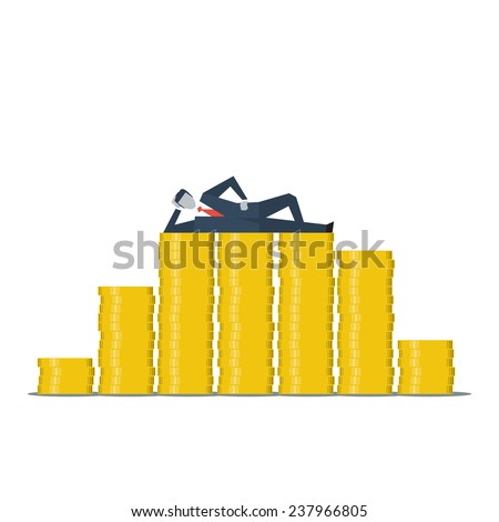 funding concept - stock vector