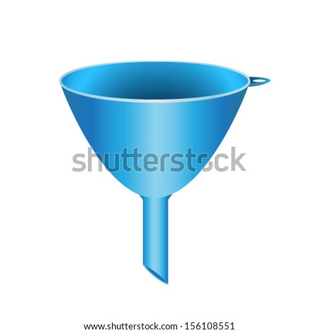 funnel - stock vector