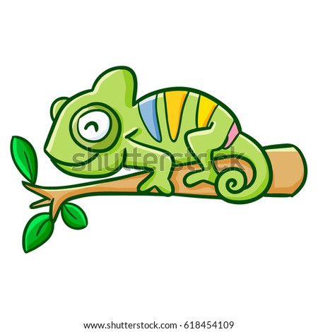 Smiling Chameleon Stock Images Royalty Free Images