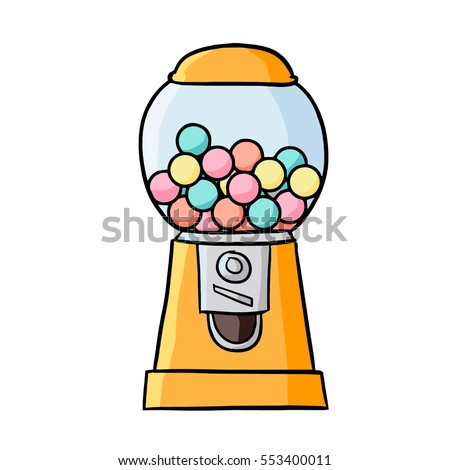 Bubble Gum Machine Stock Vectors, Images & Vector Art | Shutterstock