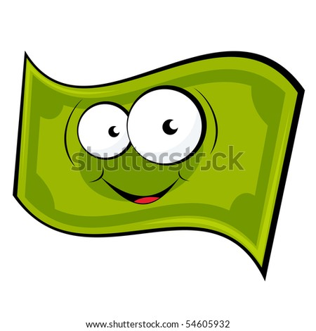 funny cartoon money