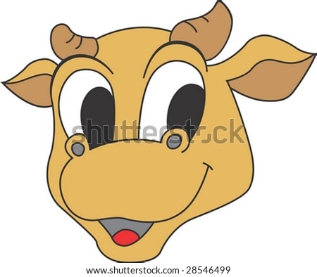 Funny Face of Bull