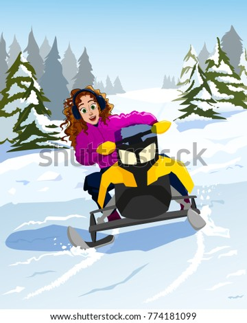 Snowmobile chicks — img 15