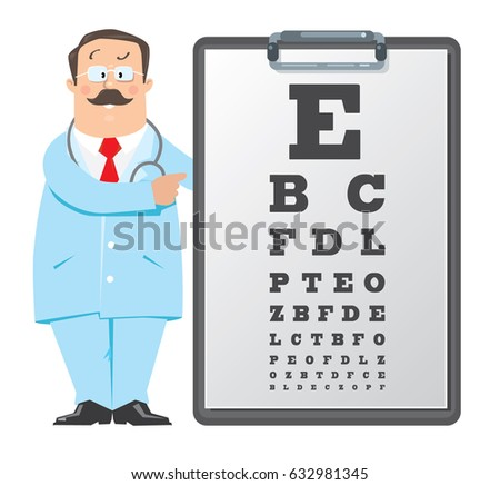 Eye Sight Chart Stock Vectors Images  Vector Art  Shutterstock
