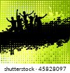 Funny party background with place for your text - stock vector