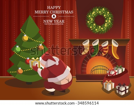 Funny santa claus bare ass funny stock vector 348596114 shutterstock funny santa claus with bare ass funny postcard for new year or christmas holiday m4hsunfo Choice Image