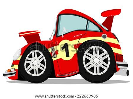 Sport Car Cartoon St