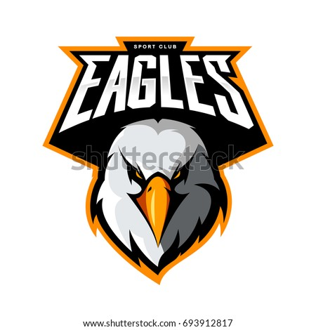 how to draw the eagles football team logo