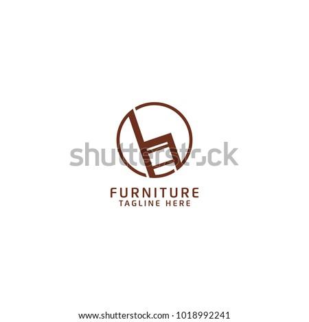 classy chair logo design. Furniture Logo Design  Combine with Chair Icon Stock Images Royalty Free Vectors