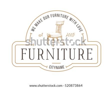 vintage furniture logo. Exellent Vintage Furniture Logo Vintage Furniture Store Logo Hair Throughout Logo W