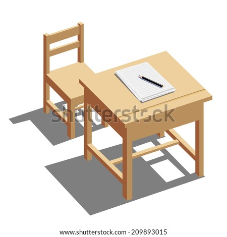 School Chair Stock Images Royalty Free Images Amp Vectors