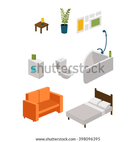 furniture. vector illustration
