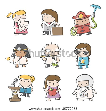 Future Careers - stock vector