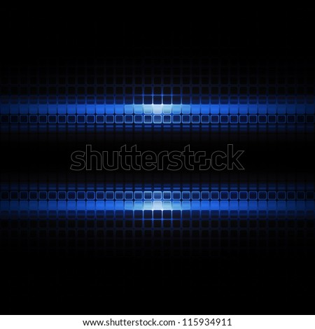 Futuristic background - stock vector