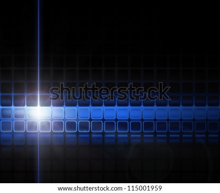 Futuristic background vector - stock vector