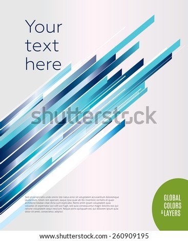 Futuristic background with lines. Vector illustration Eps10 file. Global colors&layers. - stock vector