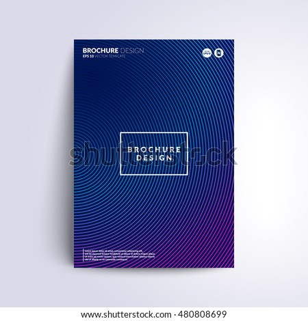 Futuristic cover design. Circle mesh with gradient color. Applicable for Covers, Placards, Posters, Flyers and Banner Design.