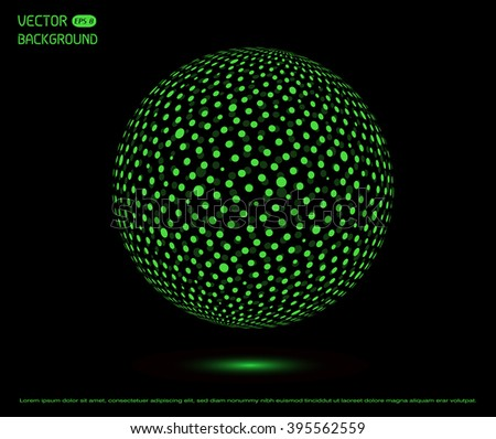 sphere net template - egg pixel icon vector illustration design stock vector