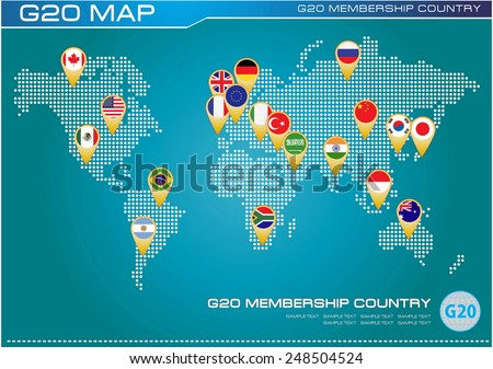 G 20 country flags worldmap flags g 20 stock vector 2018 248504524 g20 country flags with worldmap or flags of g20 membership economic g20 country flag gumiabroncs Image collections