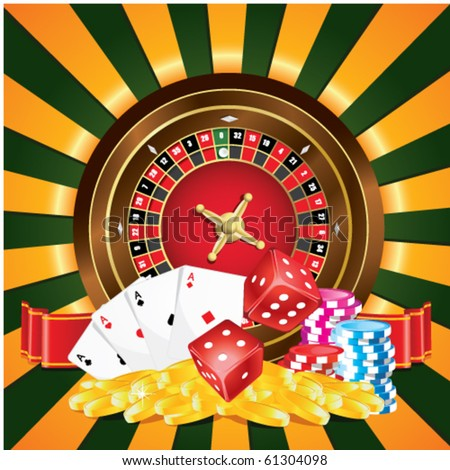 Gambling - stock vector