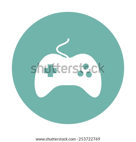 Game icon.  - stock vector