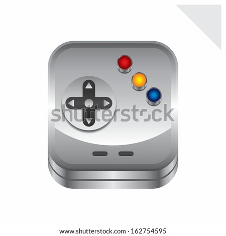 game interface icon - stock vector