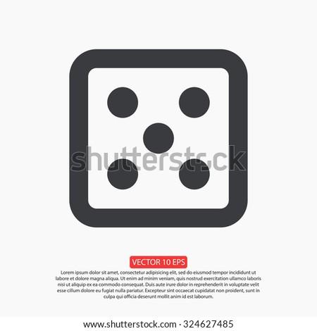 game vector icon 10 EPS - stock vector
