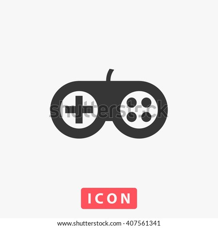 gamepad Icon - stock vector