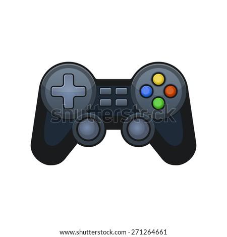 Gamepad Joypad - stock vector
