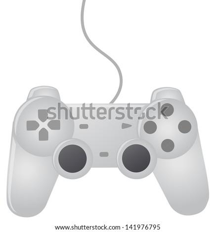 Gaming Joystick - stock vector