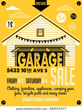 printable garage sale sign