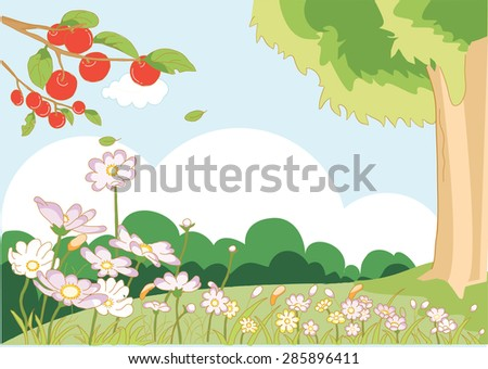 garden background