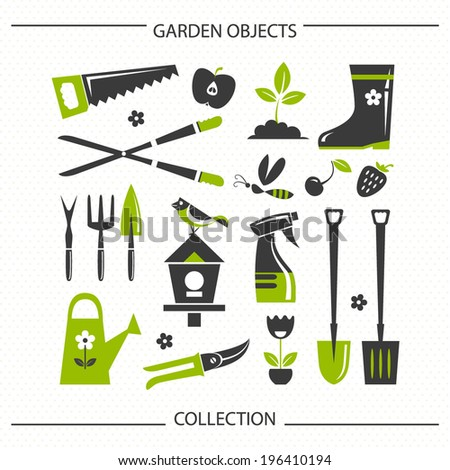 High Quality Garden Objects Collection 2