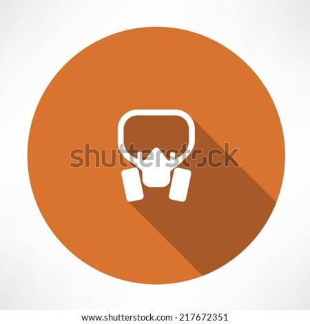 Gas mask Icon - stock vector