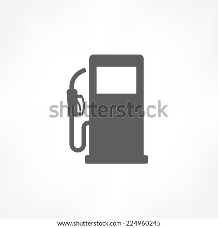 gas pump icon  - stock vector