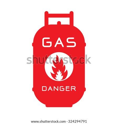 gas tank - stock vector