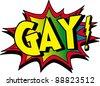 gay - stock photo