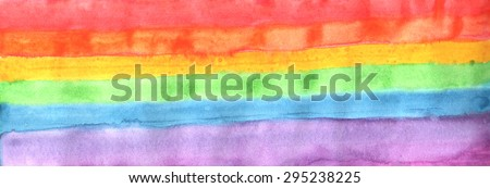 Gay family flag / Gay friendly / Rainbow flag / tolerance / Gay and lesbian/ Vector illustration