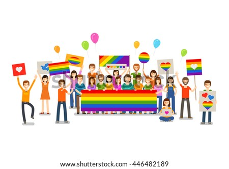 Gay Flag Stock Images, Royalty-Free Images & Vectors | Shutterstock