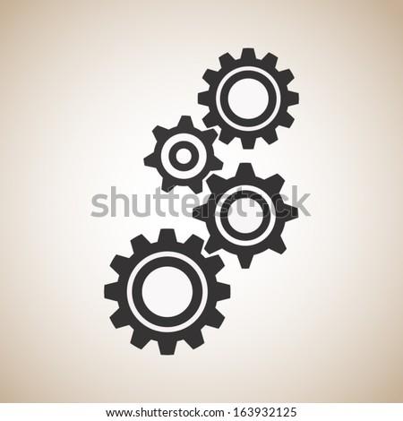 Gear - stock vector