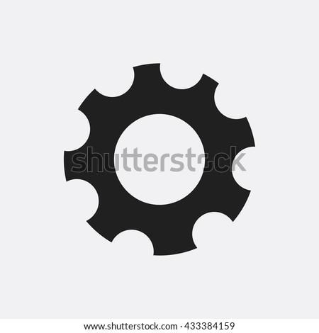 Gear Icon Flat