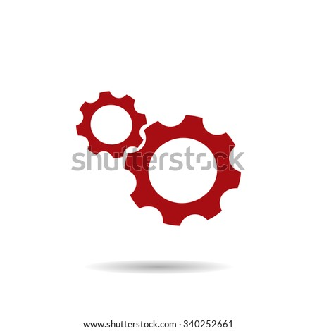 gear Icon, gear Icon Vector, gear Icon JPG, gear Icon JPEG, gear Icon EPS, gear Icon design - stock vector