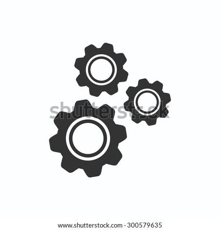 gear   .VECTOR ICON 10 eps - stock vector