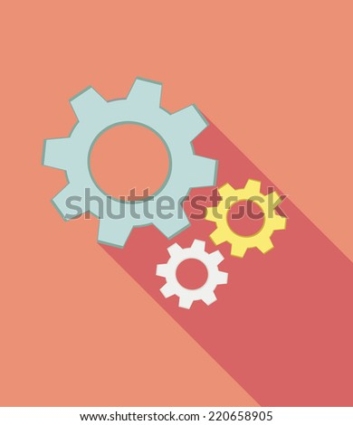 Gears - stock vector