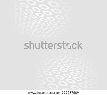 gears and cogs abstract background - stock vector