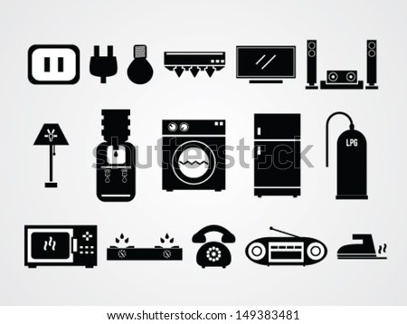 General Home Icons sets - stock vector
